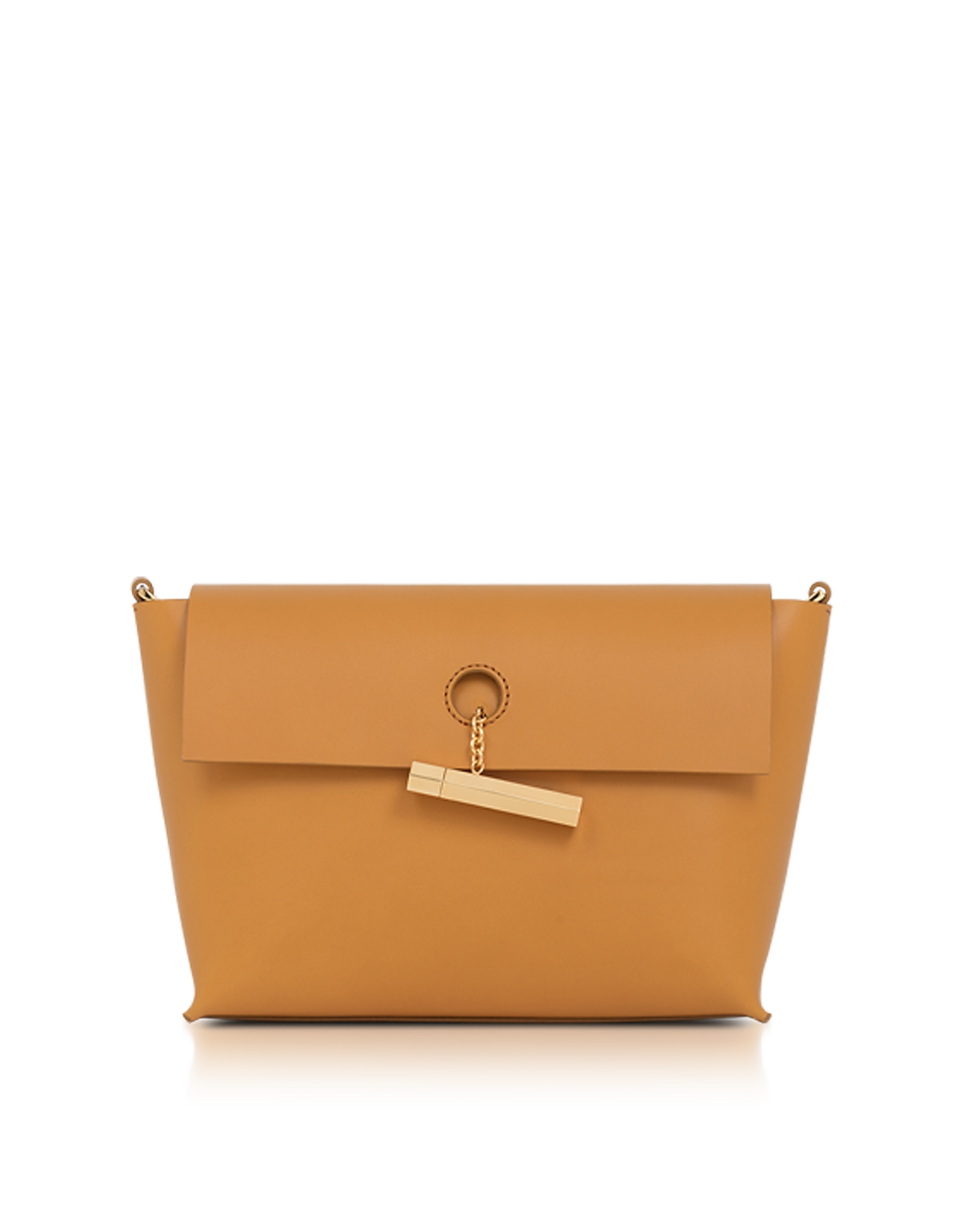 Sophie Hulme Handbags, Dark Butter Pinch Crossbody Bag