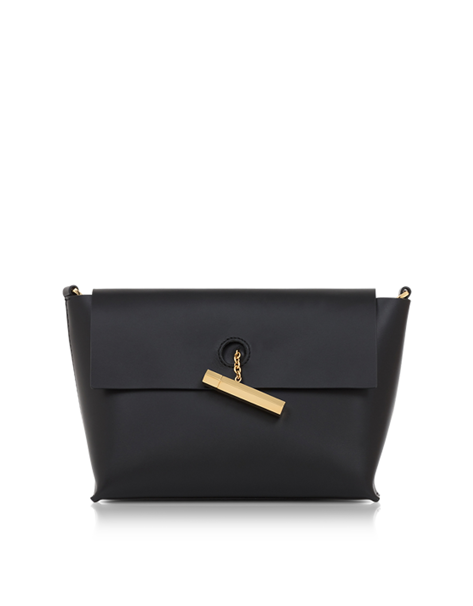 Sophie Hulme Handbags, Black Pinch Crossbody Bag