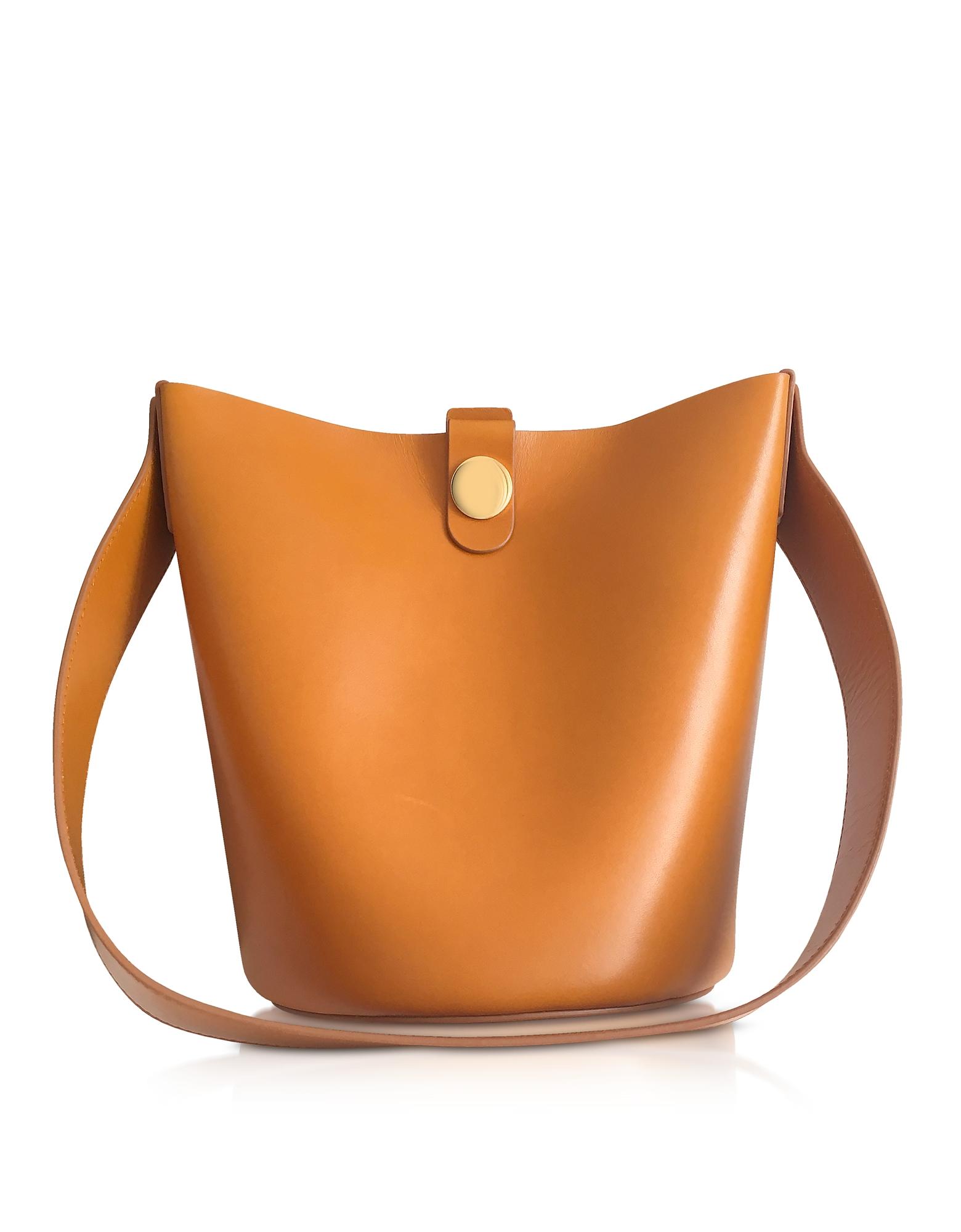 SOPHIE HULME | Sophie Hulme Designer Handbags, Shiny Saddle Leather The Swing Bag | Goxip