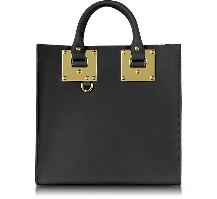 Square Leather Tote - Sophie Hulme