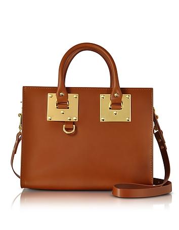 Sophie Hulme - Tan Albion Saddle Leather Medium Tote Bag