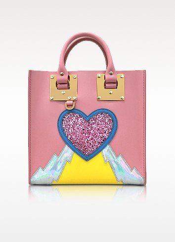 Pink Multi Albion Square Tote - Sophie Hulme