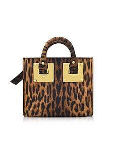 Leopard Print Albion Box Tote - Sophie Hulme