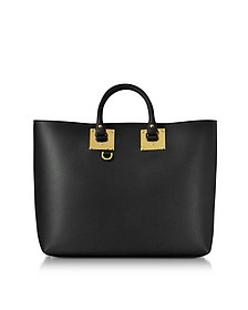 Black Cromwell Soft E/W Shopper - Sophie Hulme
