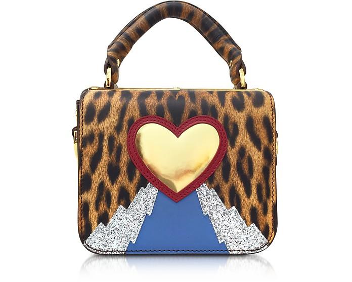 Leopard Print Multi Finsbury Small Top Plate Crossbody Bag - Sophie Hulme