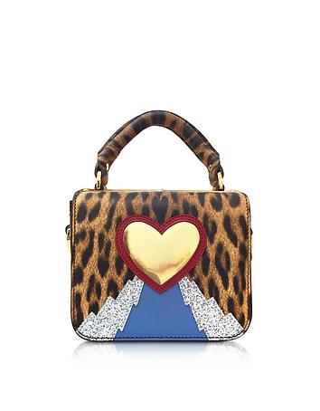 Sophie Hulme - Leopard Print Multi Finsbury Small Top Plate Crossbody Bag