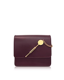 Aubergine Small Cocktail Stirrer Bag - Sophie Hulme