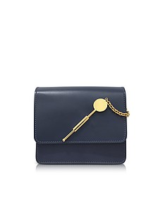 Deep Navy Small Cocktail Stirrer Bag - Sophie Hulme