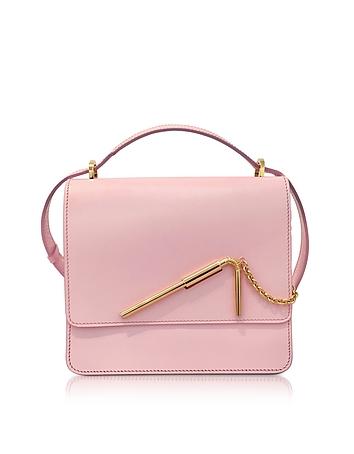 Sophie Hulme - Pastel Pink Medium Straw Bag