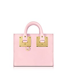 Pastel Pink Saddle Leather Albion Box Tote Bag  - Sophie Hulme