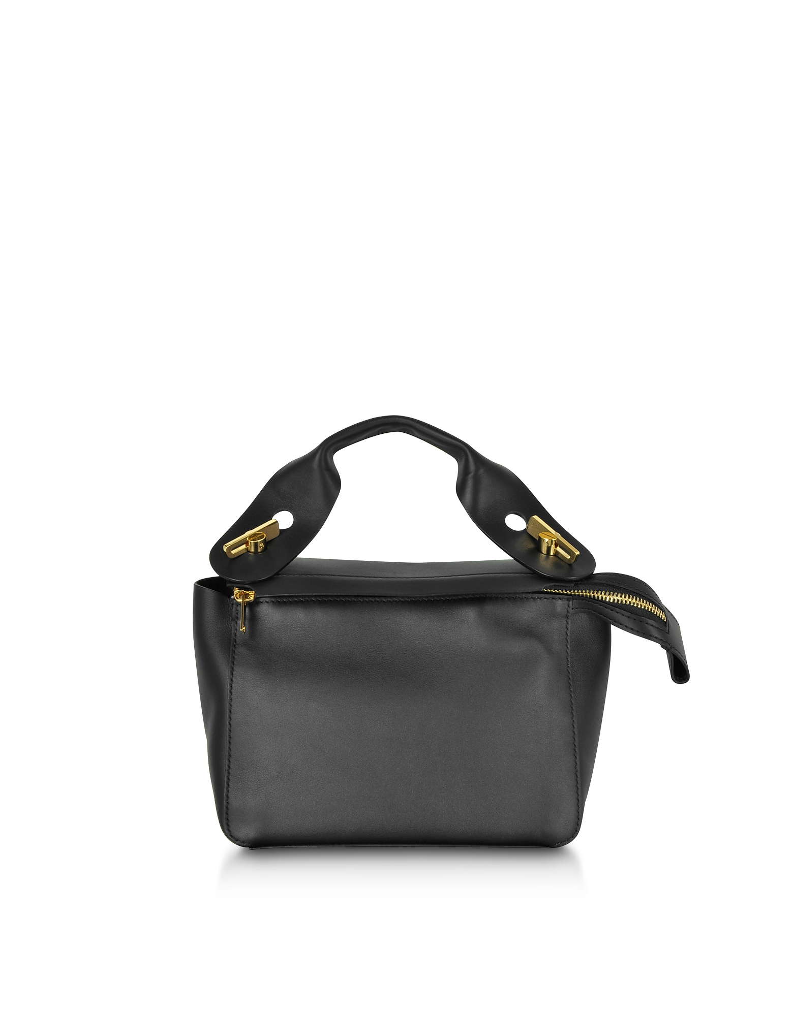 Image of Sophie Hulme Designer Handbags, Soft Leather Bolt Shoulder Bag