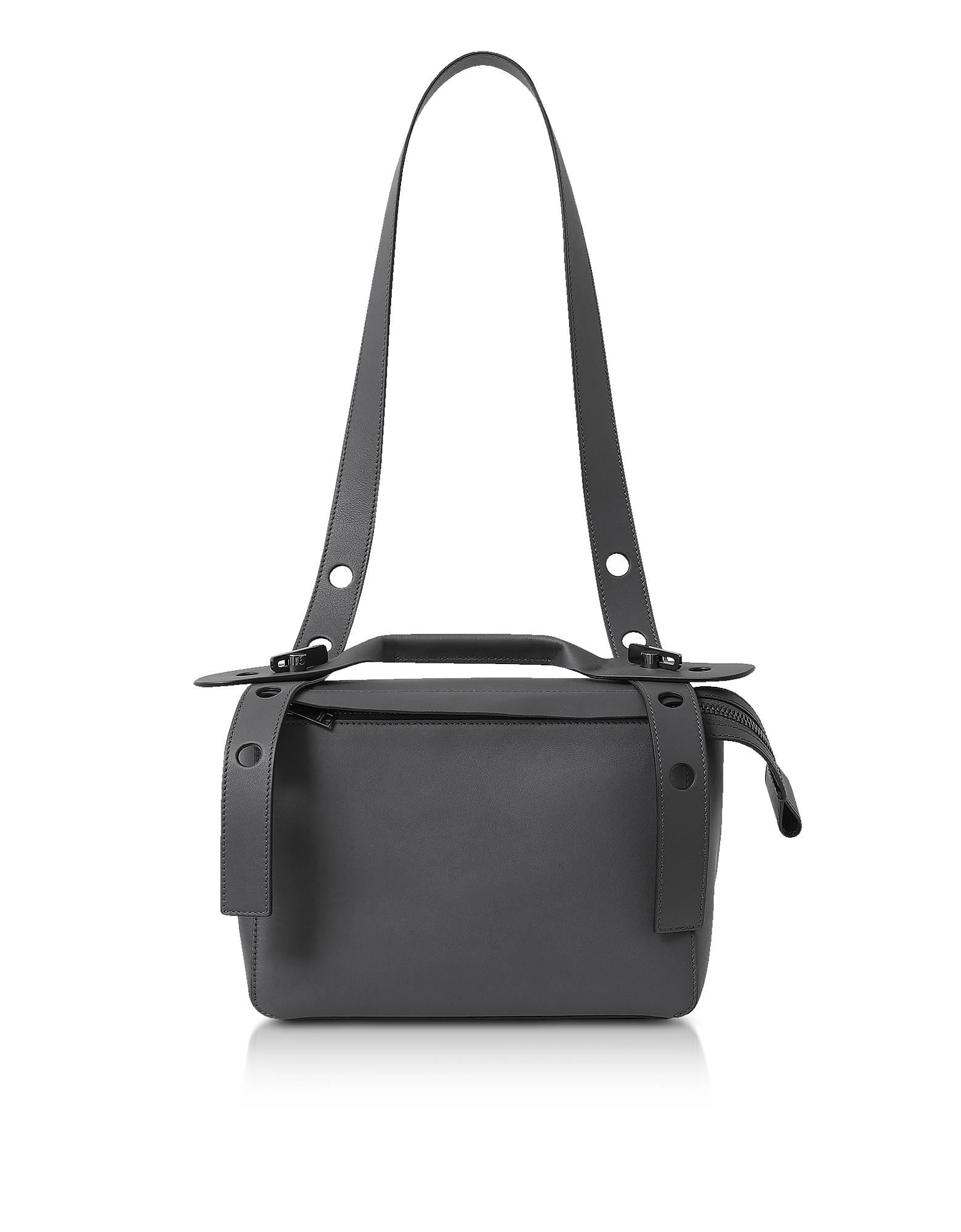 Charcoal The Bold Shoulder Bag
