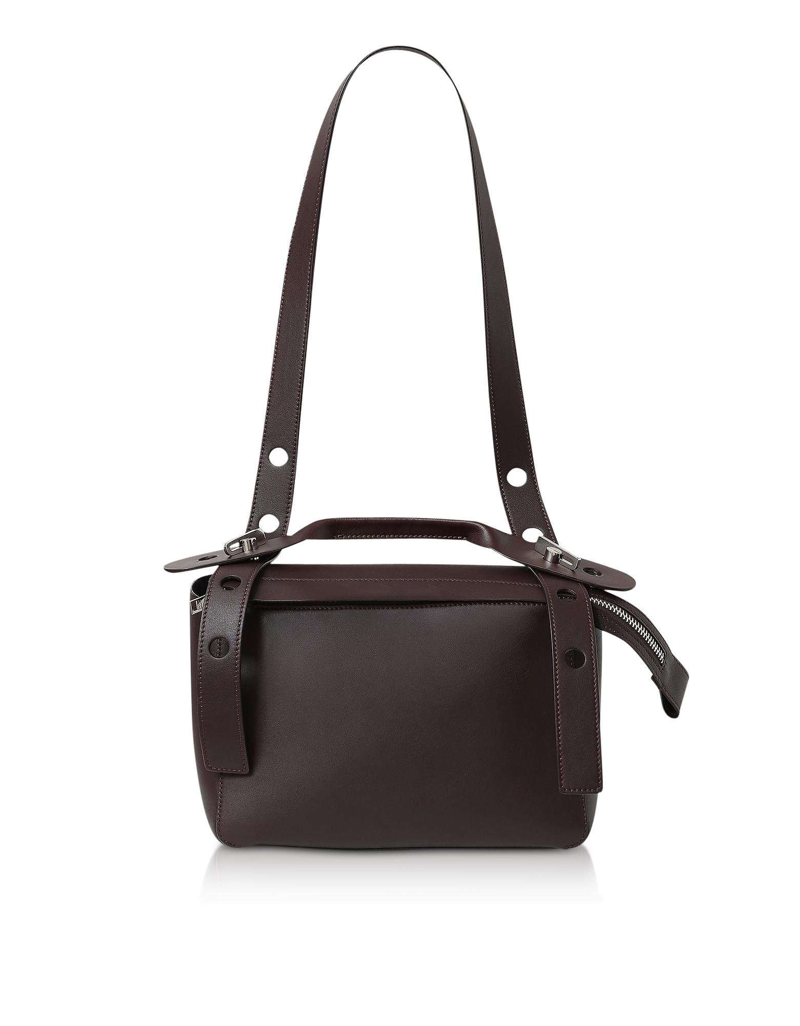 Oxblood The Bold Shoulder Bag