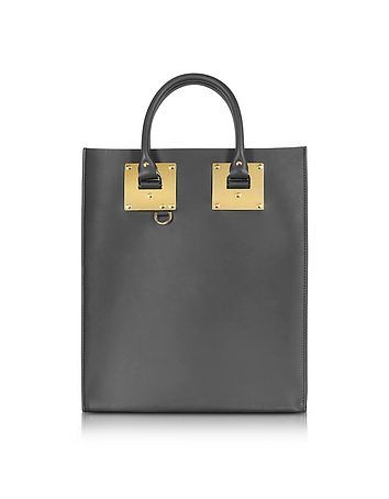 Charcoal Albion Mini Tote Bag