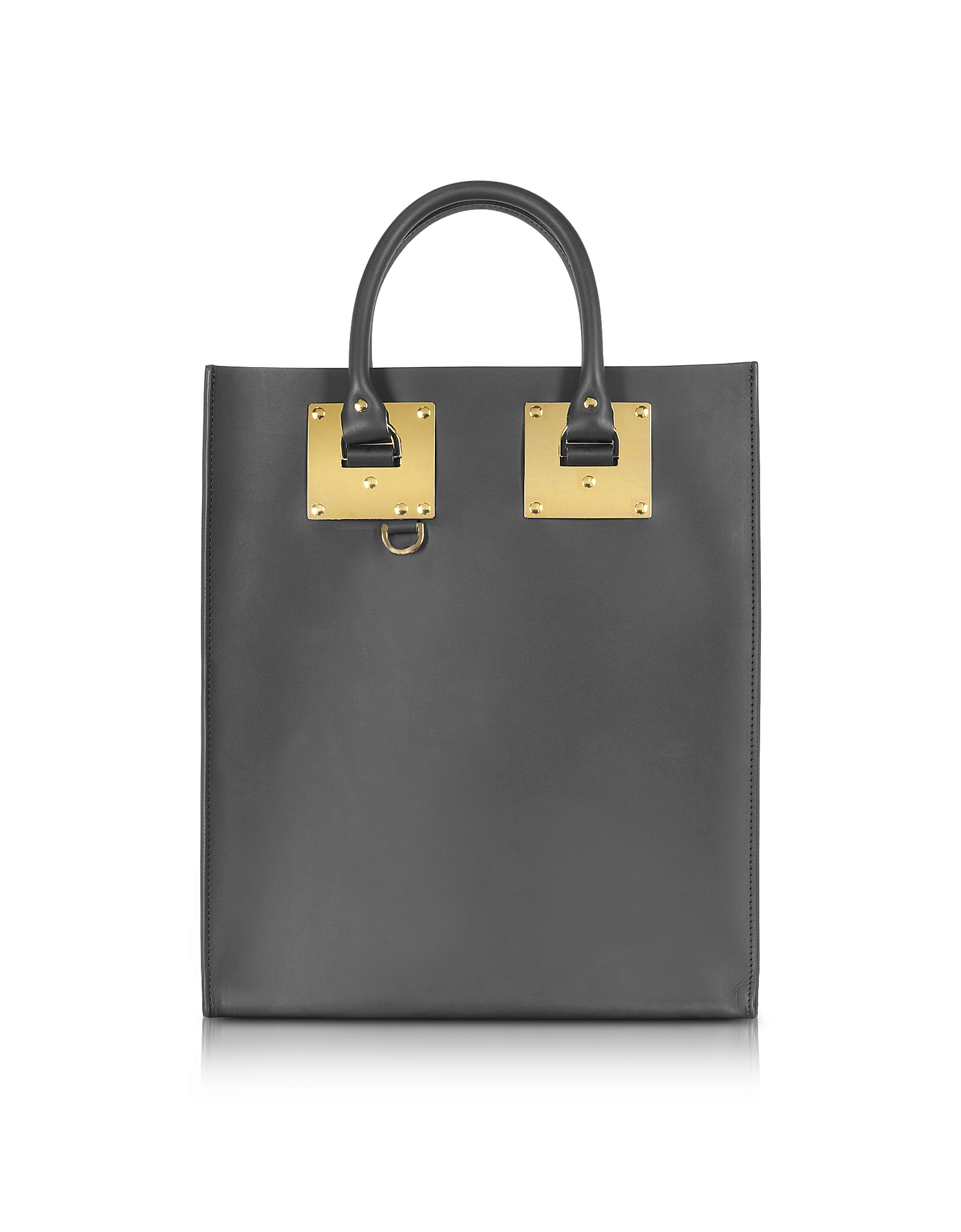 Sophie Hulme Handbags, Charcoal Albion Mini Tote Bag