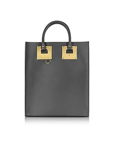 Charcoal Albion Mini Tote Bag - Sophie Hulme