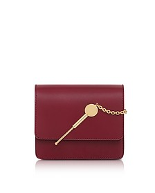 Dark Red Small Cocktail Stirrer Bag - Sophie Hulme