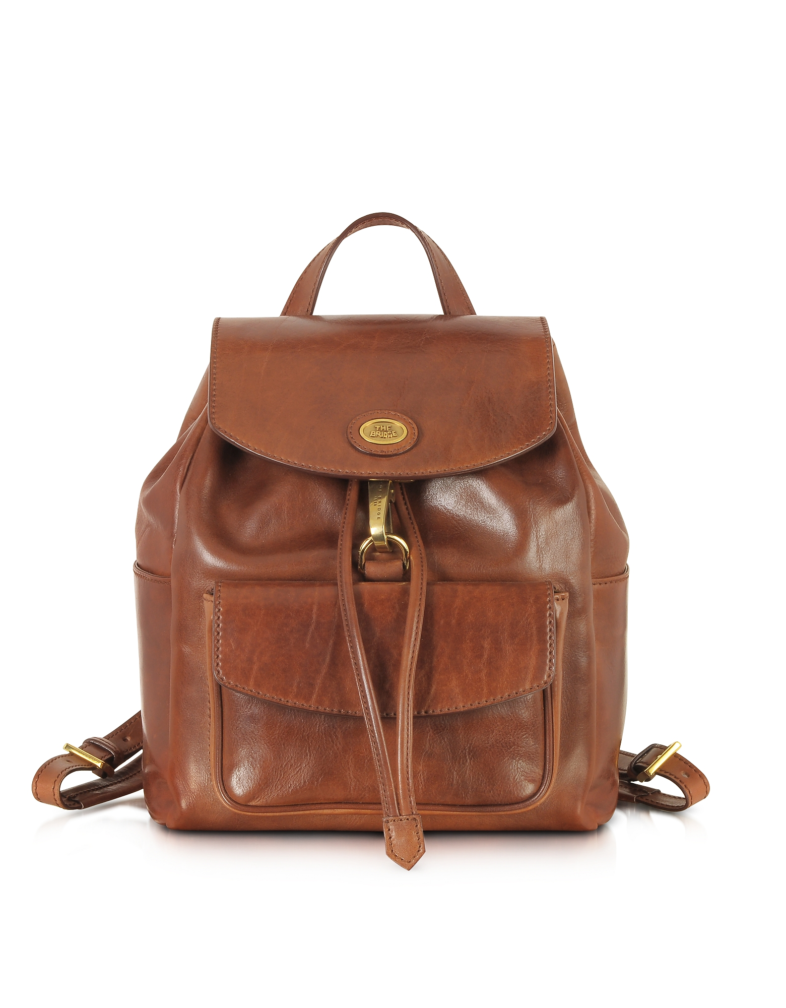 The Bridge Handbags, Story Donna Marrone Leather Backpack