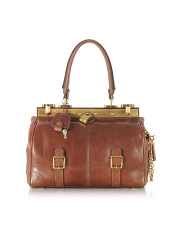 Icons Alyce Small Leather Satchel