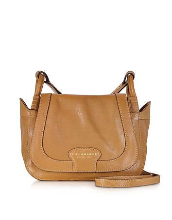 Amazon Cognac Leather Shoulder Bag