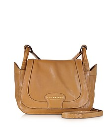 Amazon Cognac Leather Shoulder Bag - The Bridge