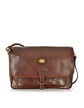 The Bridge - Dark Brown Leather Large Shoulder Bag