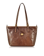 The Bridge Shopper in Pelle Marrone - the bridge - it.forzieri.com