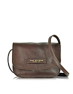 The Bridge Plume Soft Donna Borsa Crossbody in Pelle Testa di Moro - the bridge - it.forzieri.com