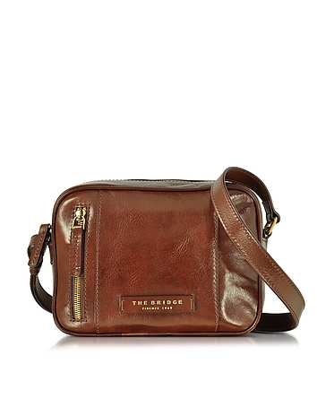 Passpartout Donna Marrone Leather Camera Bag