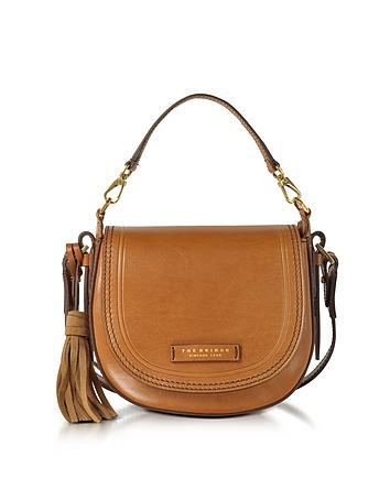 The Bridge - Medium Leather Messenger Bag w/Tassels