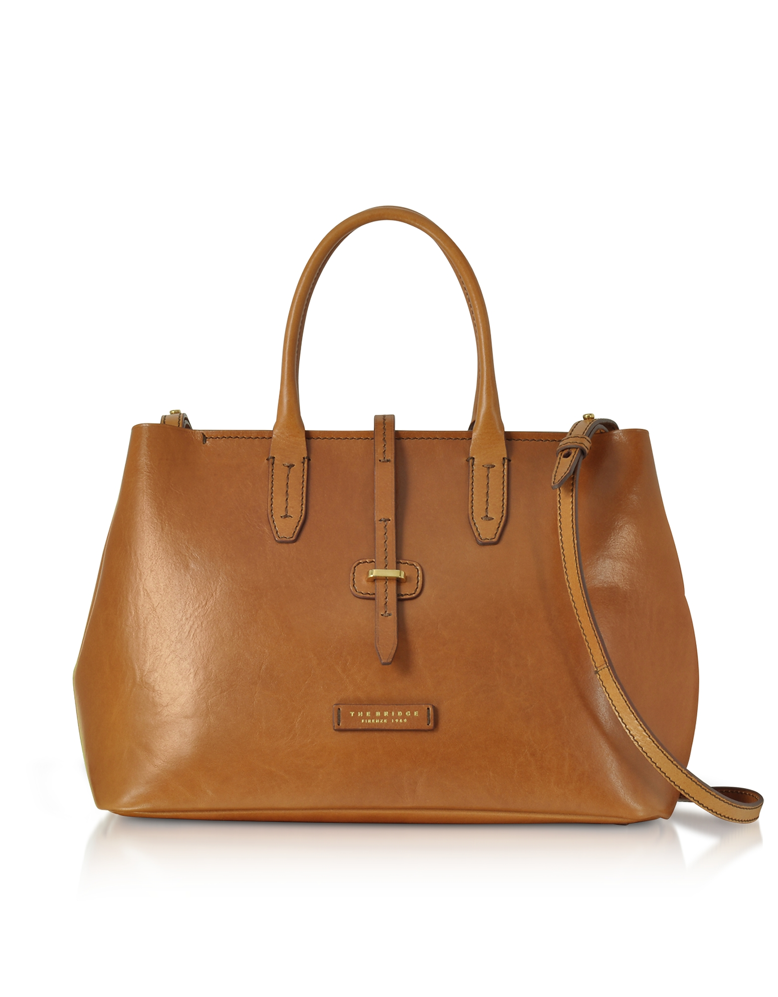 Large Leather Tote bag w/Shoulder Strap