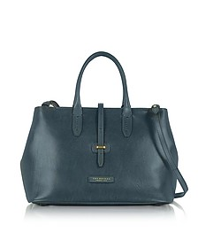 Large Leather Tote bag w/Shoulder Strap - The Bridge