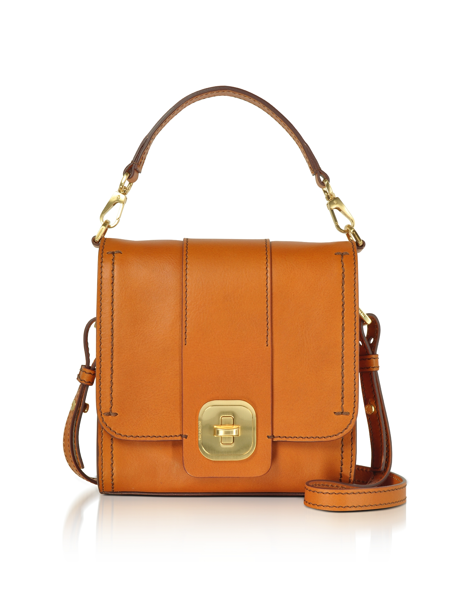 The Bridge Handbags, Genuine Leather Top Handle Crossbody Bag