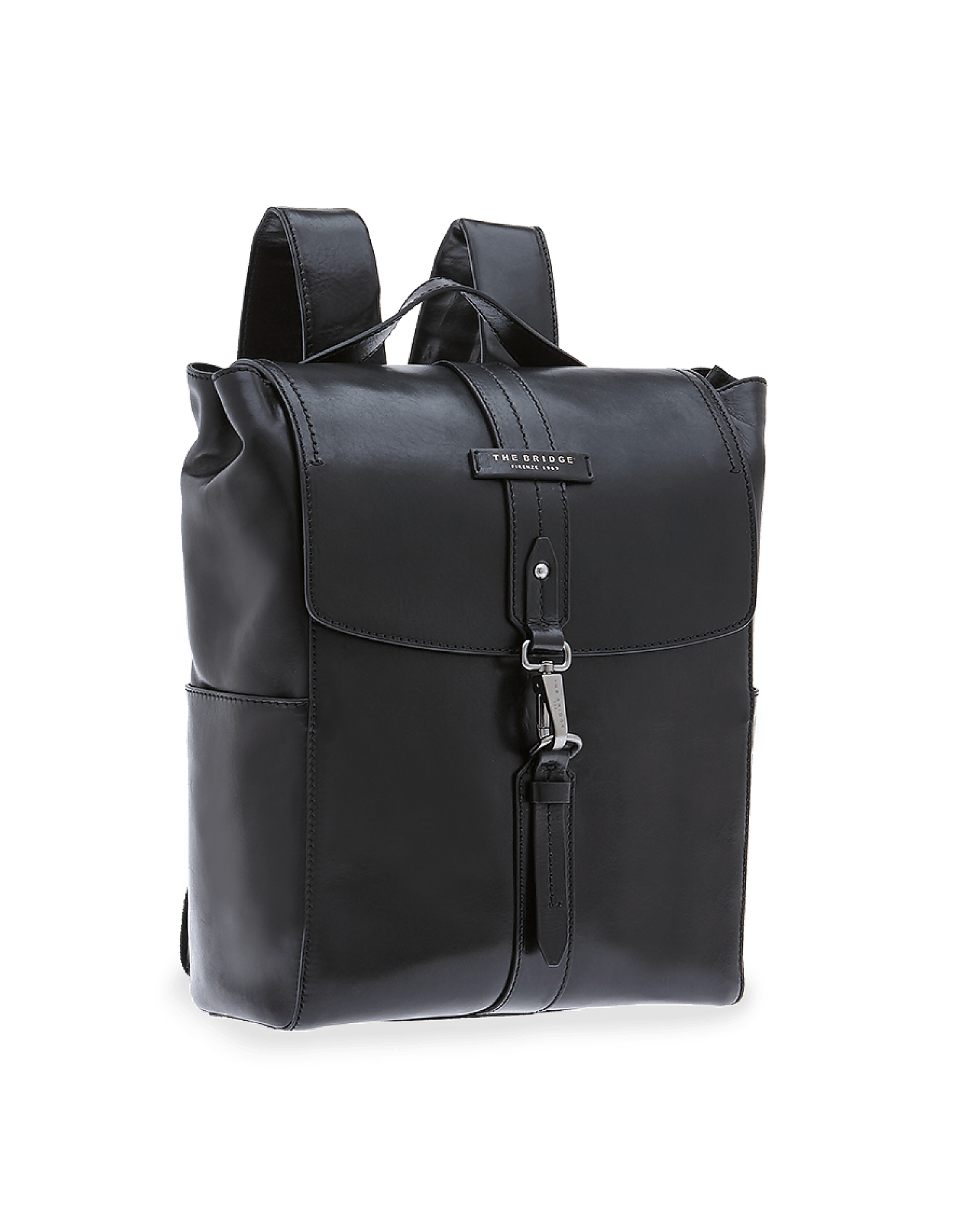 The Bridge Designer Men's Bags, Kallio Genuine Leather Backpack