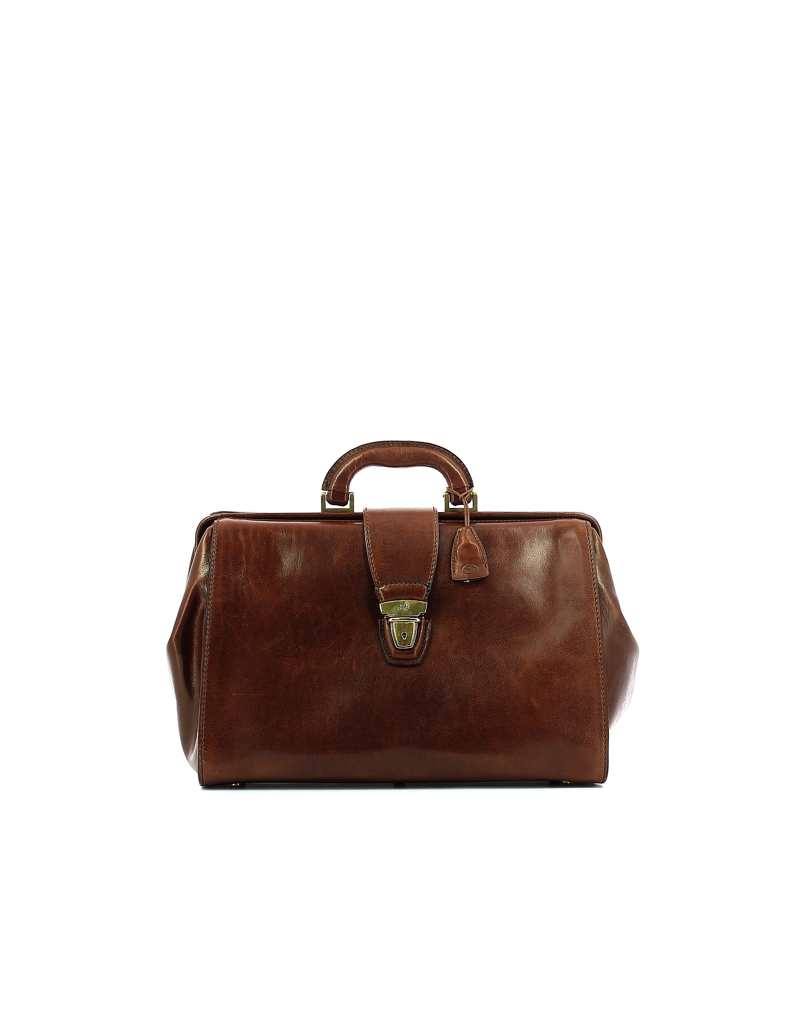 The Bridge Designer Doctor Bags, Brown Leather Story Doctor Bag