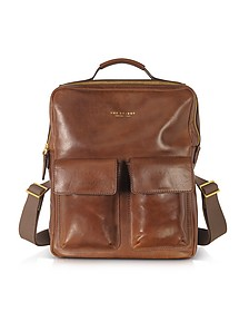Sfoderata Marrone Leather Backpack - The Bridge