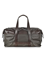 The Bridge Pininfarina Borsa Weekender in Tessuto e Pelle - the bridge - it.forzieri.com