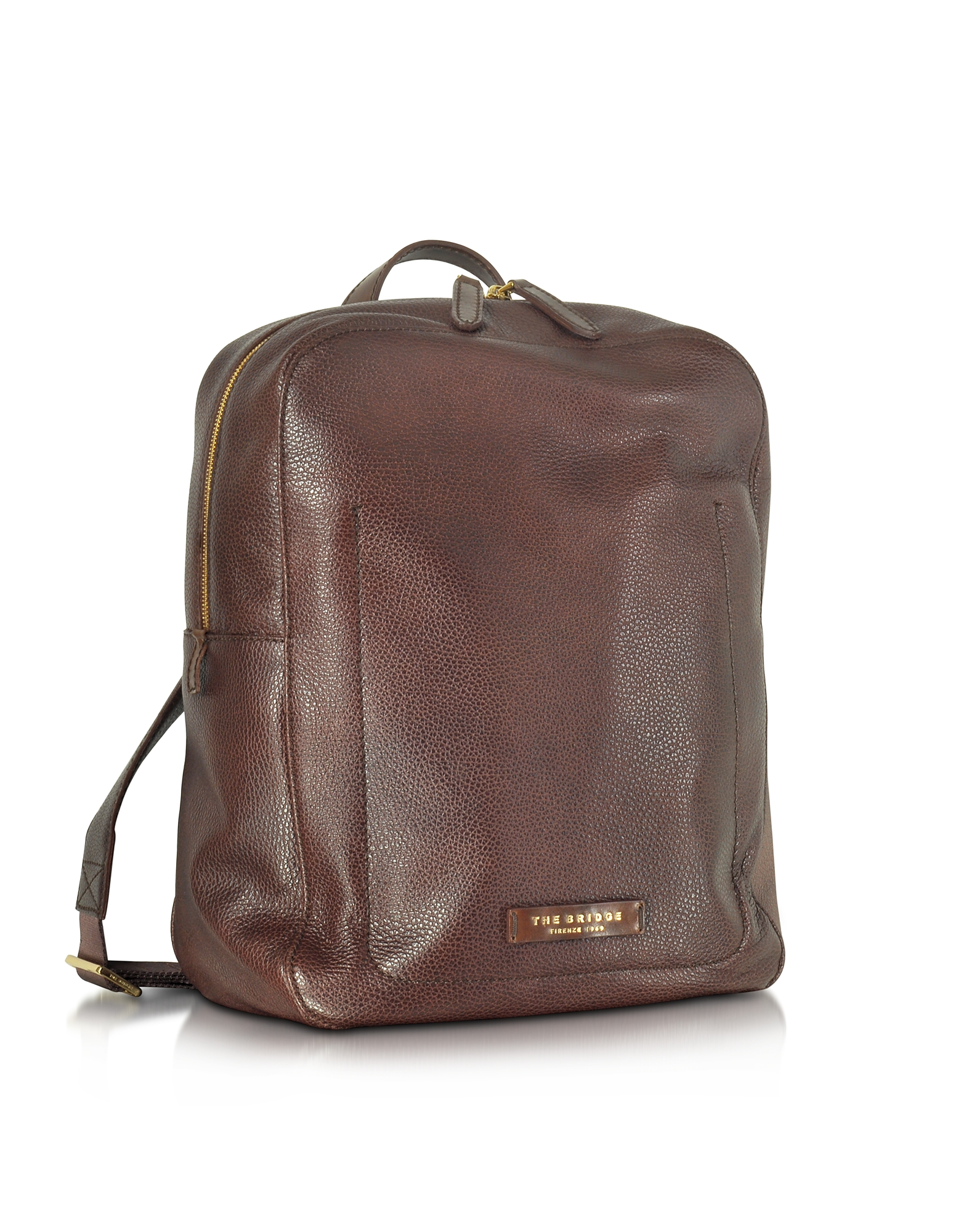 Фото Plume - Темно-Коричневый Мужской Кожаный Рюкзак. Купить с доставкой