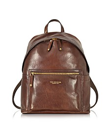 Sfoderata Lux Uomo Marrone Leather Backpack - The Bridge
