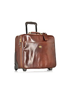 Story Viaggio Marrone Leather Pilot Case - The Bridge