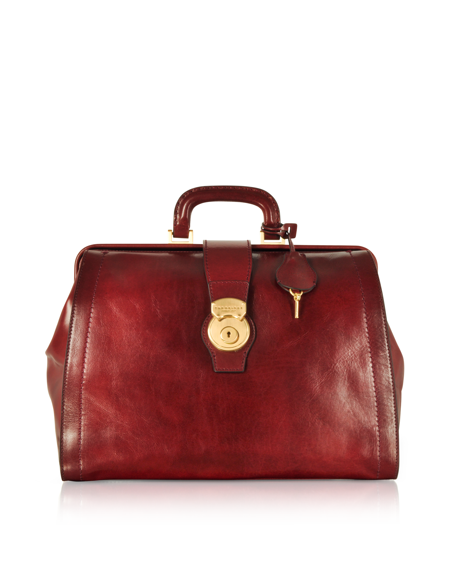 Image of Capalbio Genuine Leather Doctor Bag