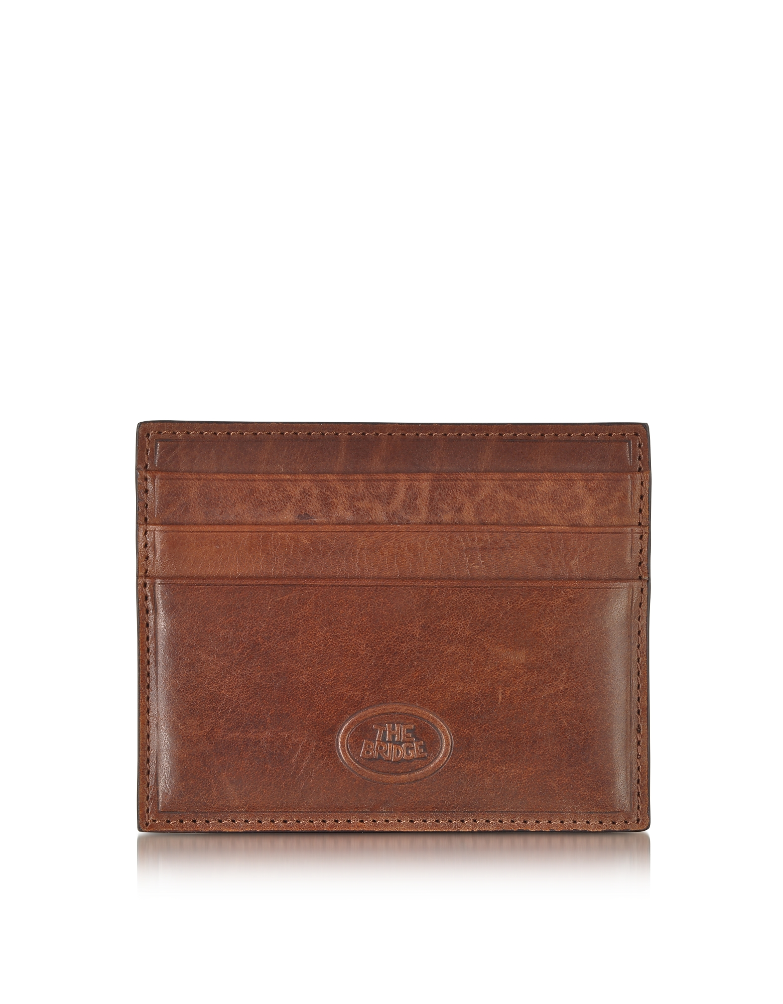 The Bridge Wallets, Story Uomo Leather Credit Card Holder