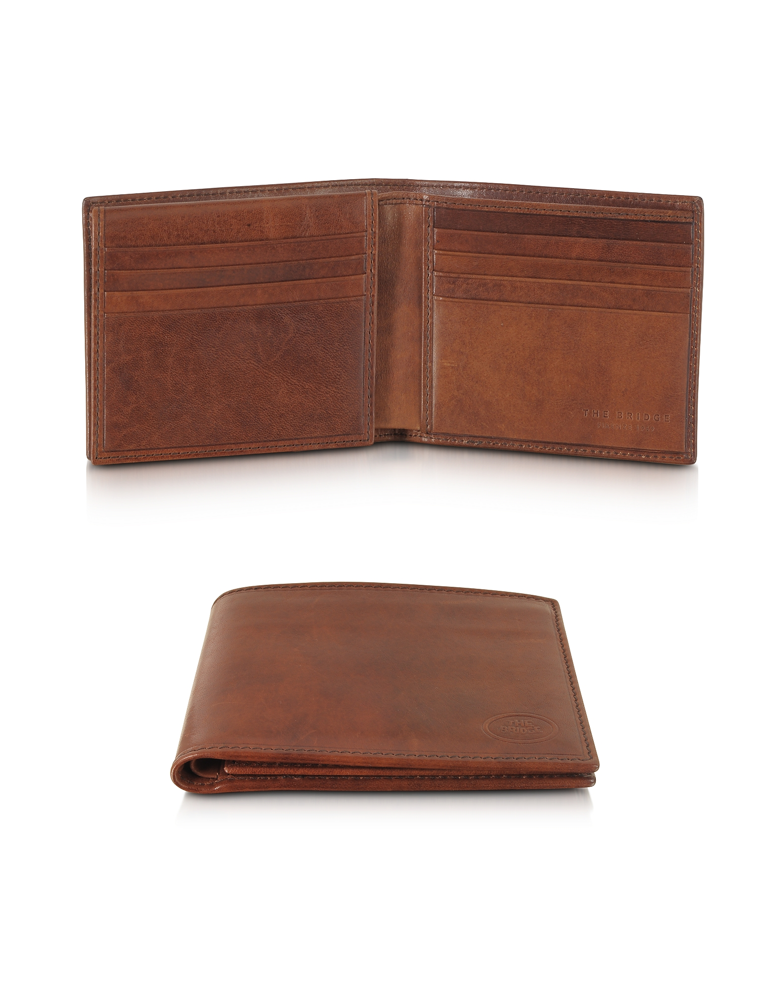 The Bridge Wallets, Story Uomo Leather Men's Billfold Wallet