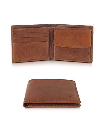 The Bridge - Story Uomo Leather Billfold Wallet w/Coin Pocket