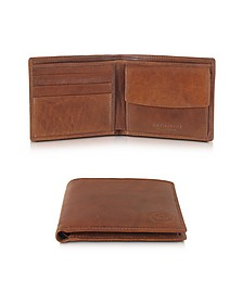 Story Uomo Leather Billfold Wallet w/Coin Pocket - The Bridge
