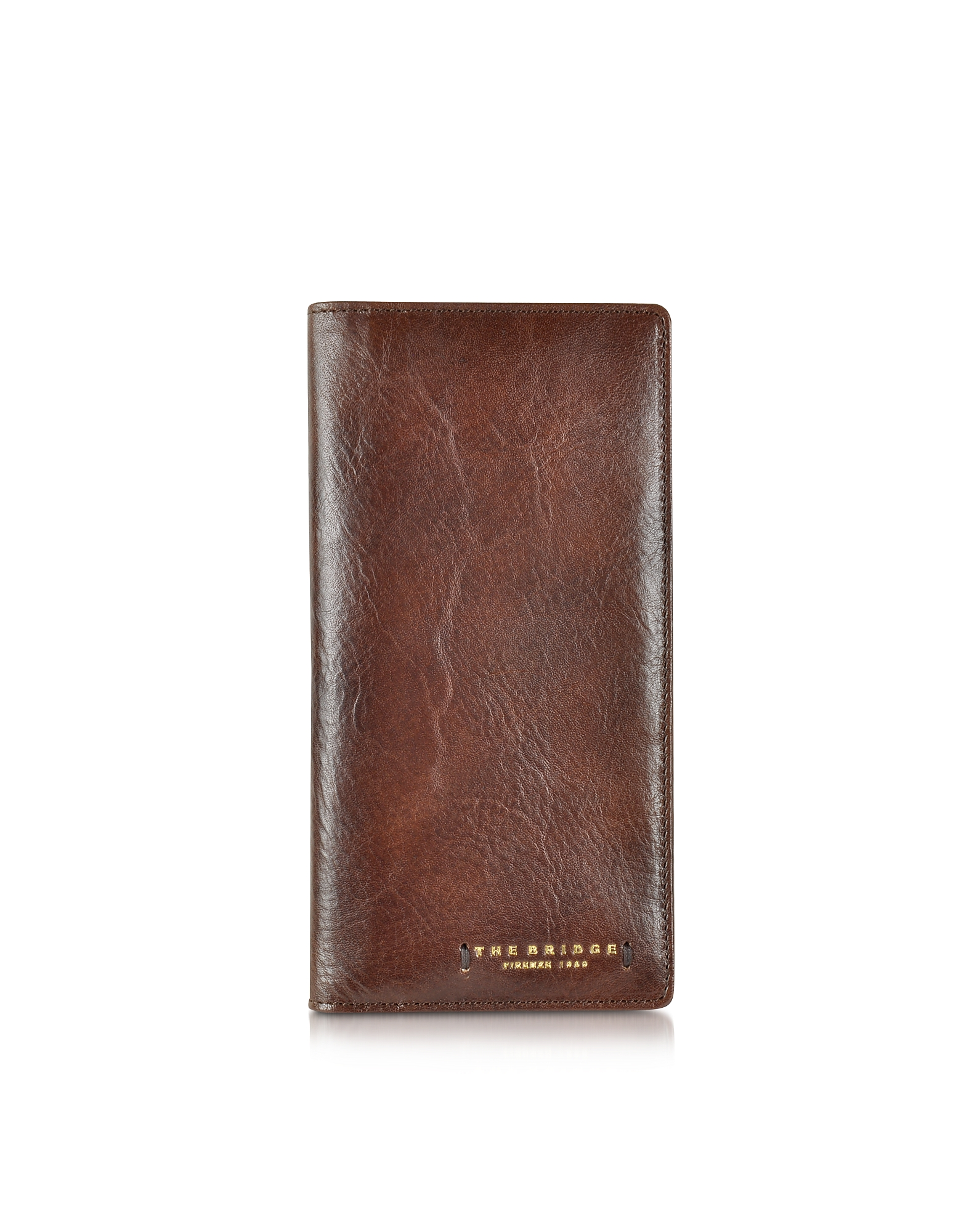 The Bridge Handbags, Dark Brown Leather Wallet