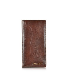 Dark Brown Leather Wallet - The Bridge