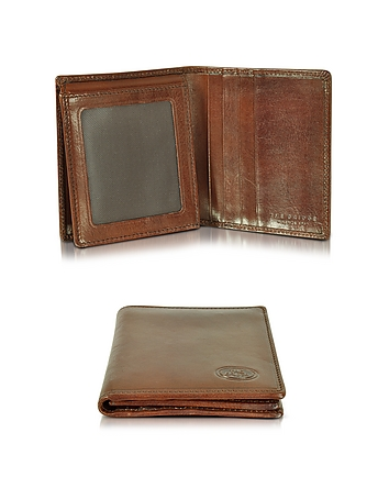 The Bridge - Story Uomo Dark Brown Men's Billfold Wallet