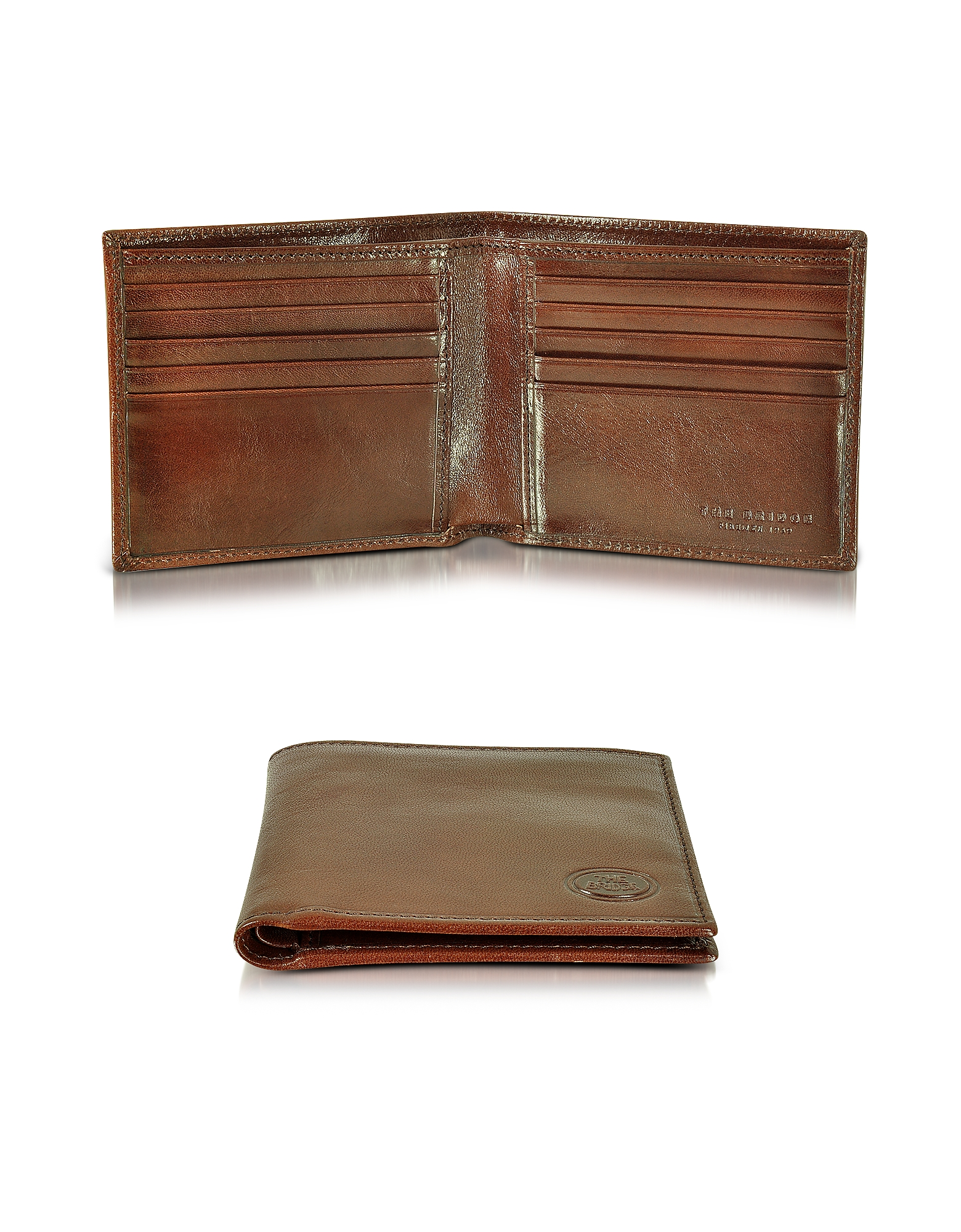 Фото Story Uomo - Мужской Темно-коричневый Бумажник. Купить с доставкой