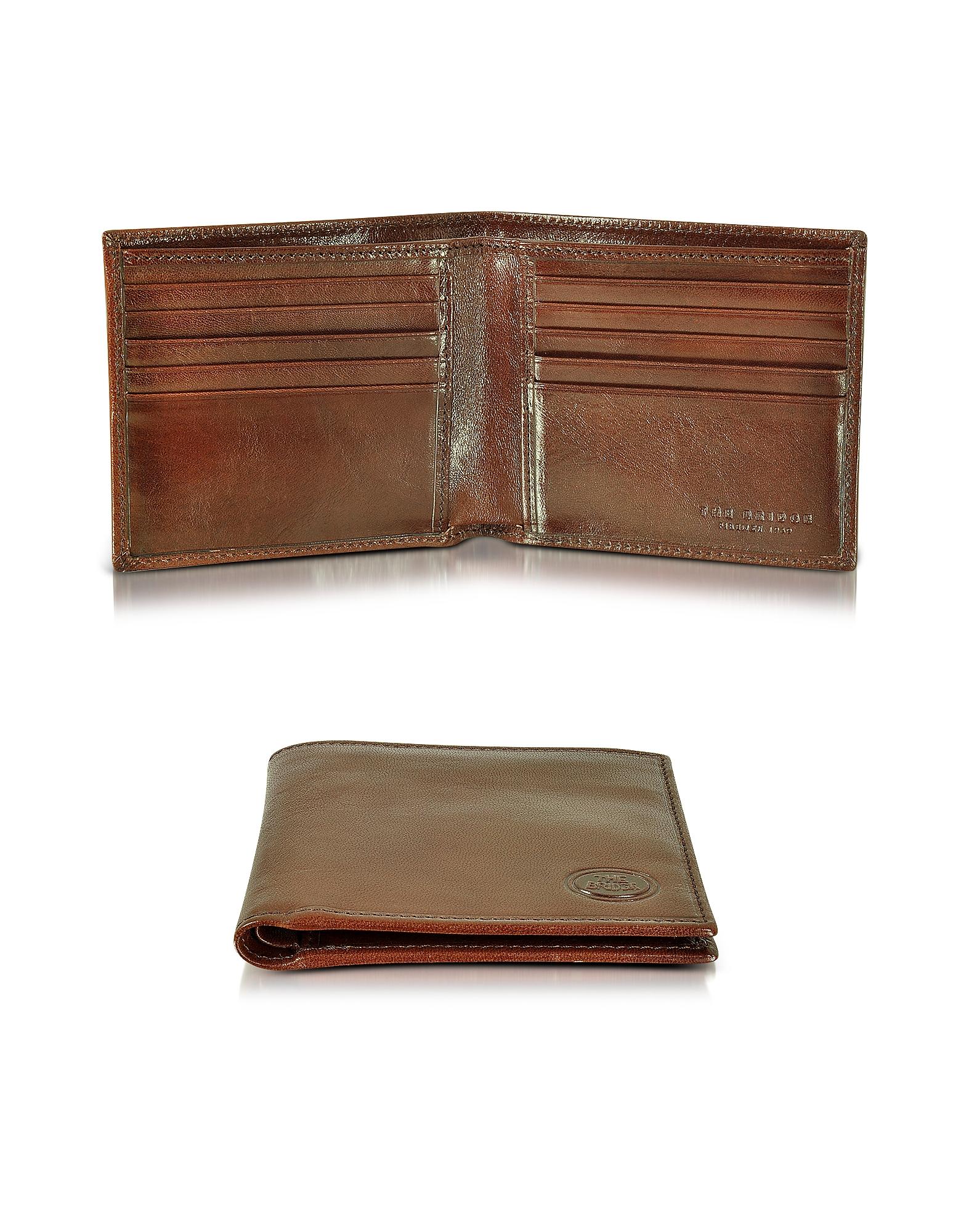 Story Uomo - Мужской Темно-коричневый Бумажник
